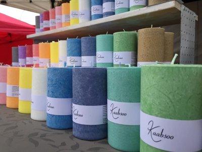3 - KAABSOO handmade cobweb-candles