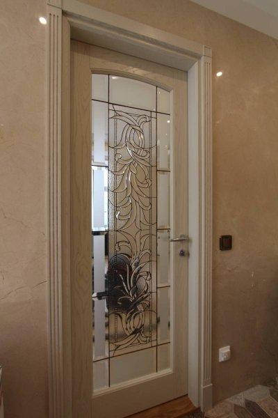 11 - Dekoratiivse klaasiga siseuks