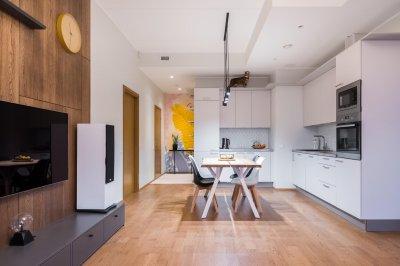 2 - Korteri sisekujundus - köök ja elutuba