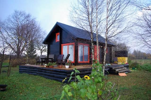 ESTPANEL OÜ wooden element houses, log houses