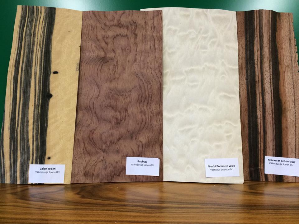Väärispuu ja Spoon OÜ eksootilised puidud ja spoonid