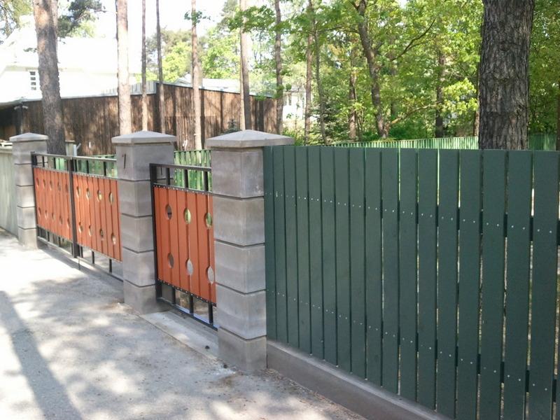ERITEX INVEST OÜ piirdeaiad, väravad, moodulaed
