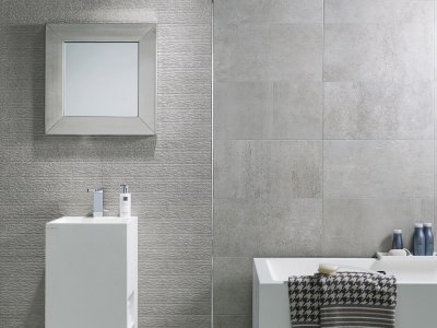 10 - PLAADIPUNKT AS ceramic panels, bathroom furniture