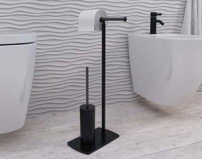 10 - Florida Nero wc-paberi hoidja