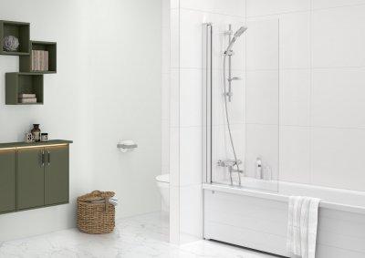 Gustavsberg Graphic vannitoamööbel, Square vannisein, emailitud terasest vann