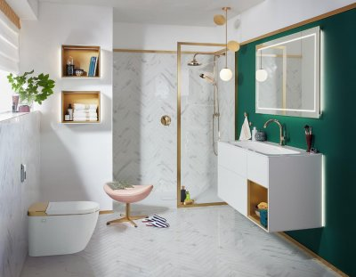 Villeroy & Boch pesufunktsioonige WC-pott ViClean I-100, vannitoakollektsioon Finion