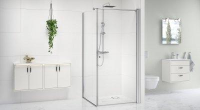 Gustavsberg Square dušisein ja -uks, Graphic vannitoamööbel