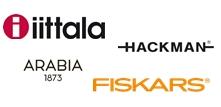 Logo - Loodus Invest AS IITTALA lauanõud, ARABIA, FISKARS, HACKMAN