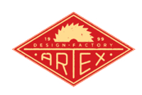 Logo - ARTEX DESIGN FACTORY OÜ hand finished furniture, country style furniture