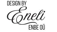 DESIGN BY ENELI kardinate disain, rõivad, kotid logo