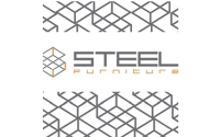 STEEL FURNITURE metallraamiga Eesti disainmööbel logo