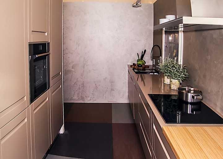Köök: köögimööbel Arens, põrand (mamoleum) Floorin