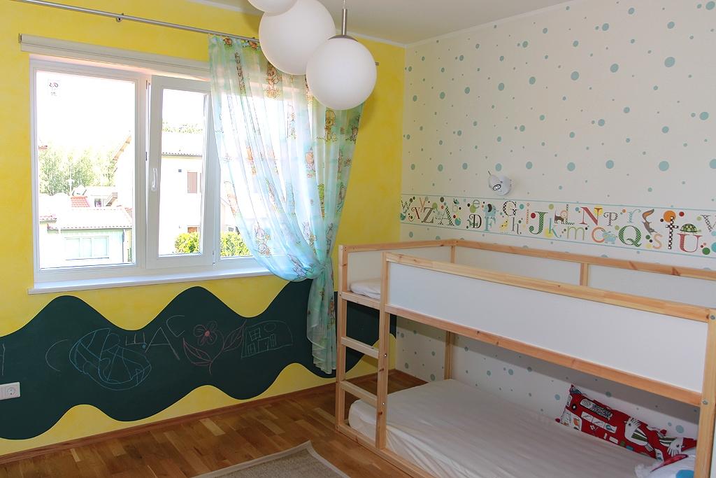 Unistuste lastetuba: peidunurk ja joonistusvalmis seinad