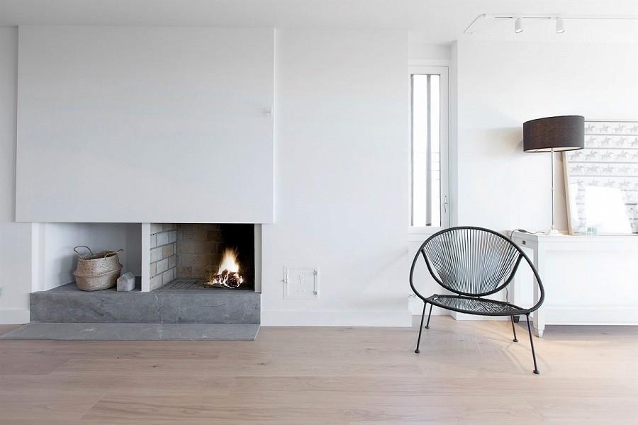 Võrratu vaatega minimalistlik katusekorter Norras