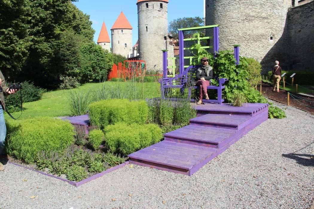 """Inspiratsiooni aiakujunduseks Tallinna Lillefestivalilt 2016: """"Kired aias"""" ja """"Terrassiaed"""""""