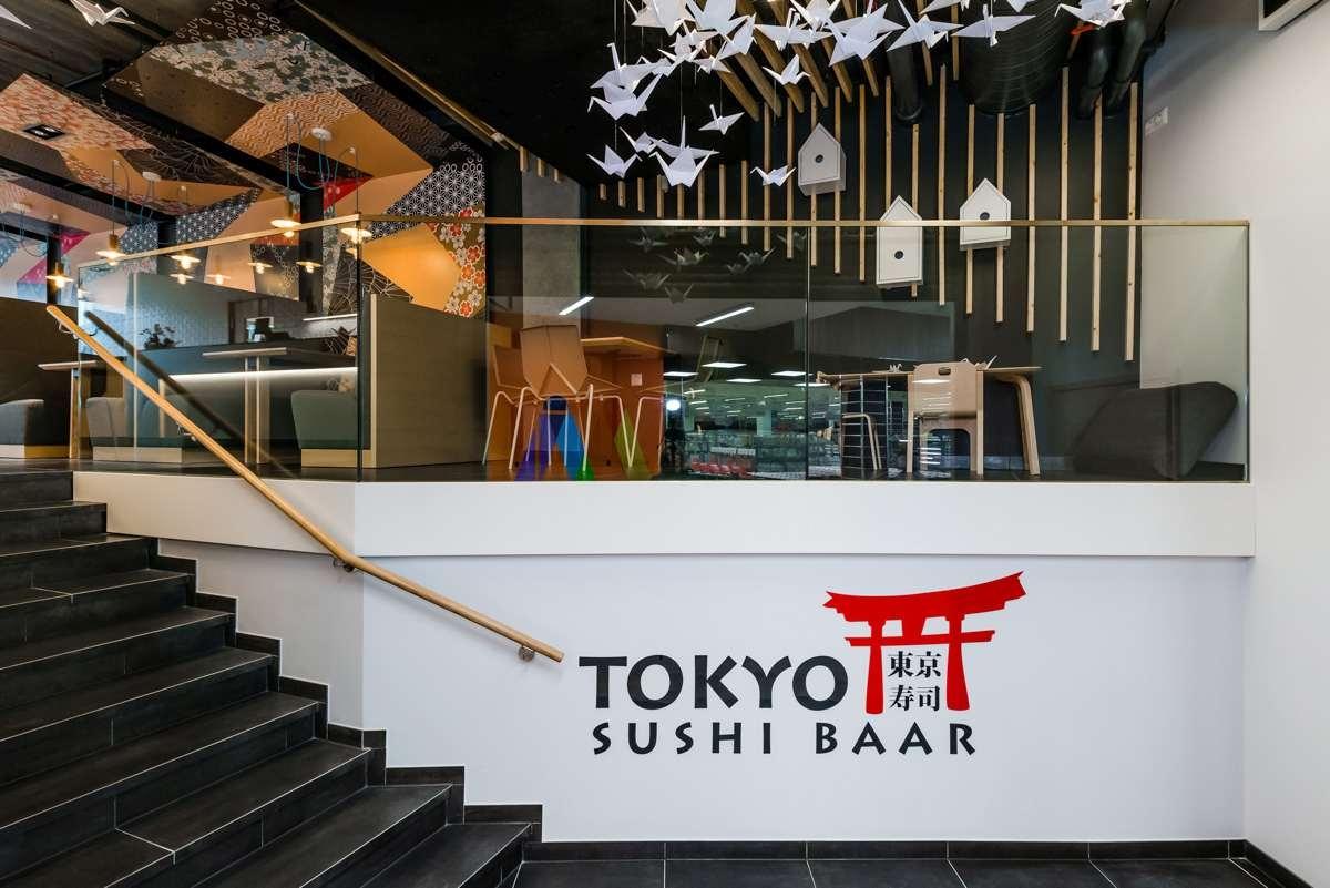 Jaapani paberikunstist inspireeritud sushibaar Tokyo