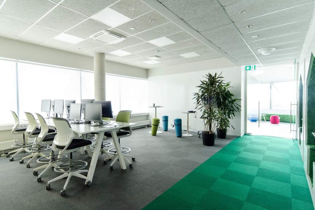 Telia büroohoone rajamisel lähtuti kõige uusimatest trendidest