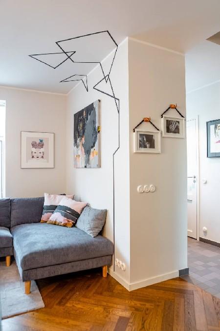 Liis ja Tanel Lindmaa kodu (elutuba)