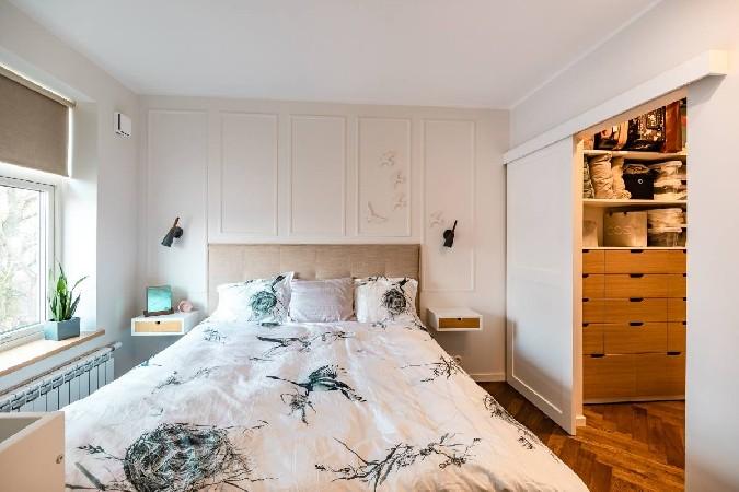 Liis ja Tanel Lindmaa kodu (magamistuba)