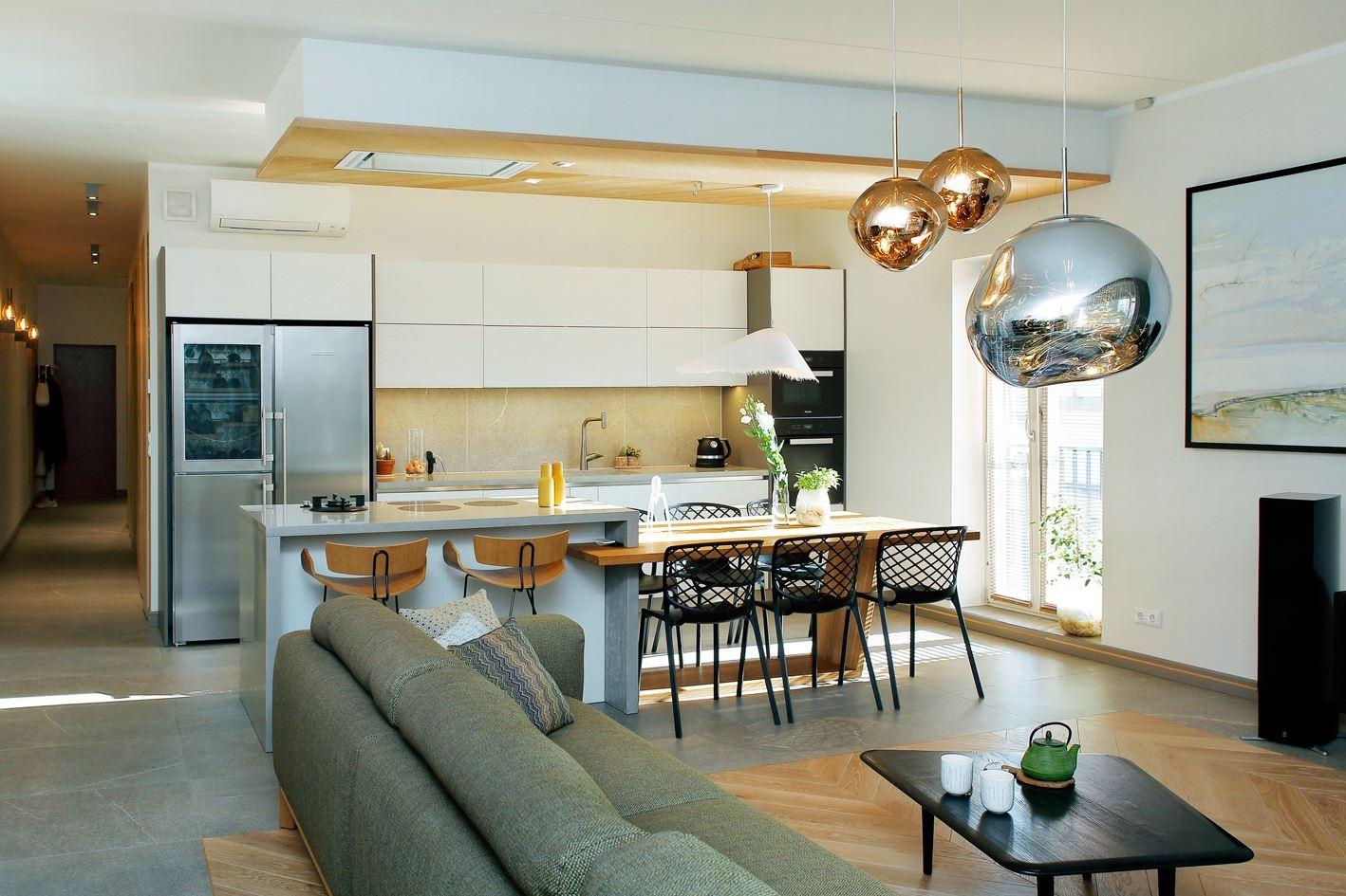 Sisekujundaja Ulvi Lõhmus loodud kaasaegne kodu Tähtveres