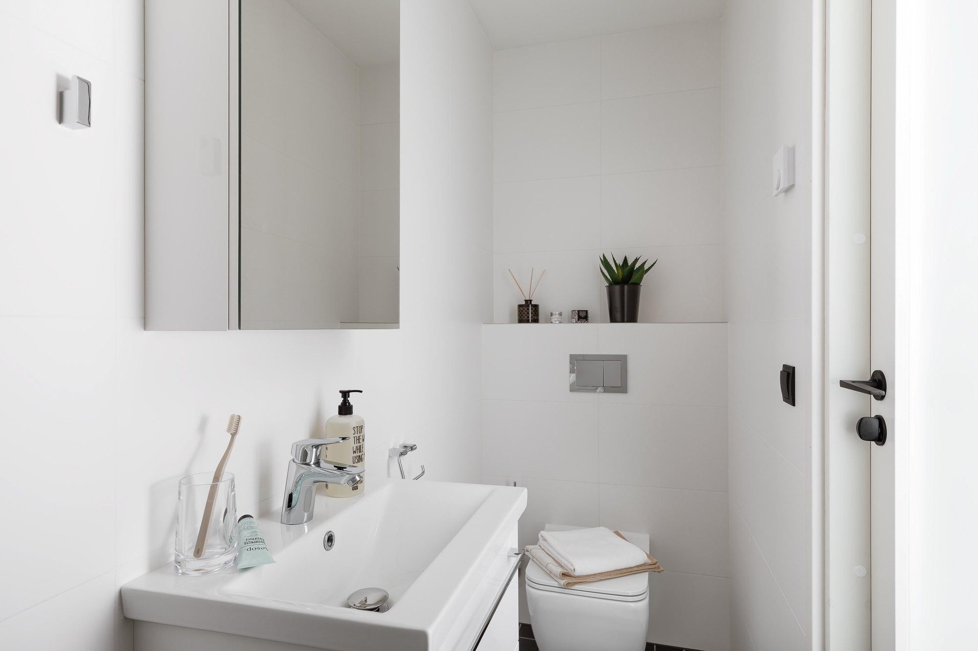 1-toalise korteri sisekujundus