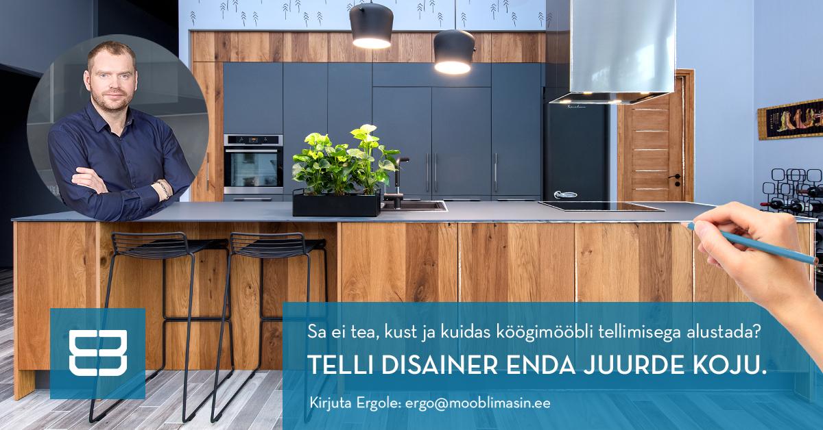 Telli köögimööbli disainer enda juurde koju