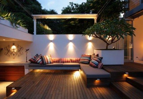 Terrassi aga saab valgusatda tubaselt.