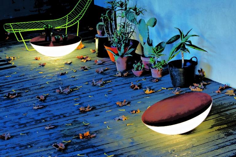 Teisaldatavad õuevalgustid-laud