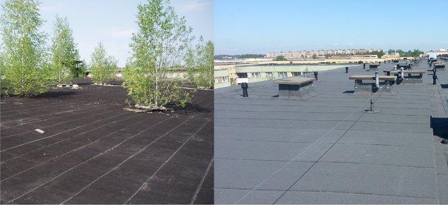 e2585e0bb29 Vanade katuste renoveerimisel on silmaga nähtav tulemus Foto: Evari Ehitus