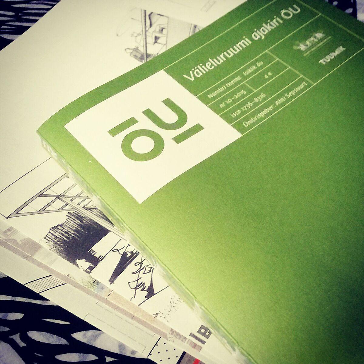 """Maastikuarhitektuuri Aasta Tegu – Väliruumiajakiri """"ÕU"""""""