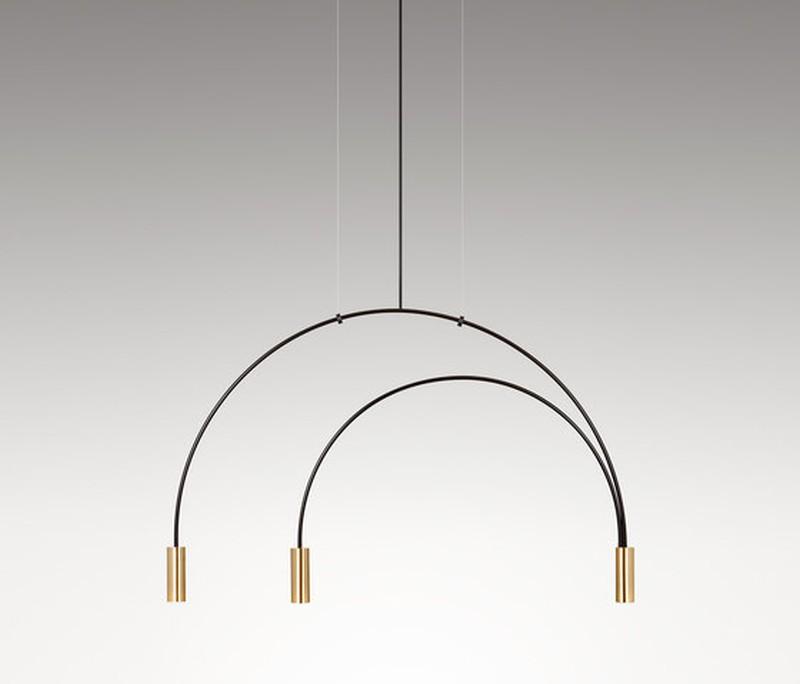 Eriti minimalistliku joonega LED rippvalgusti Volta.