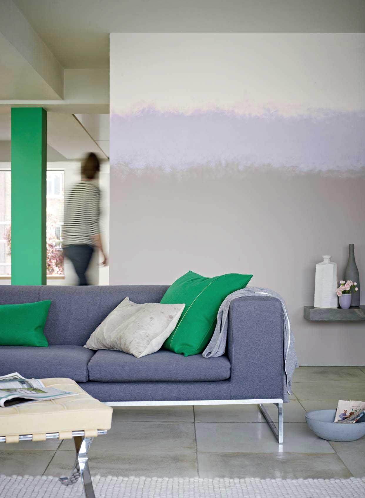 Seina minimalistlik poolitamine vabakäe joonega on eraldi ruumiefekt.