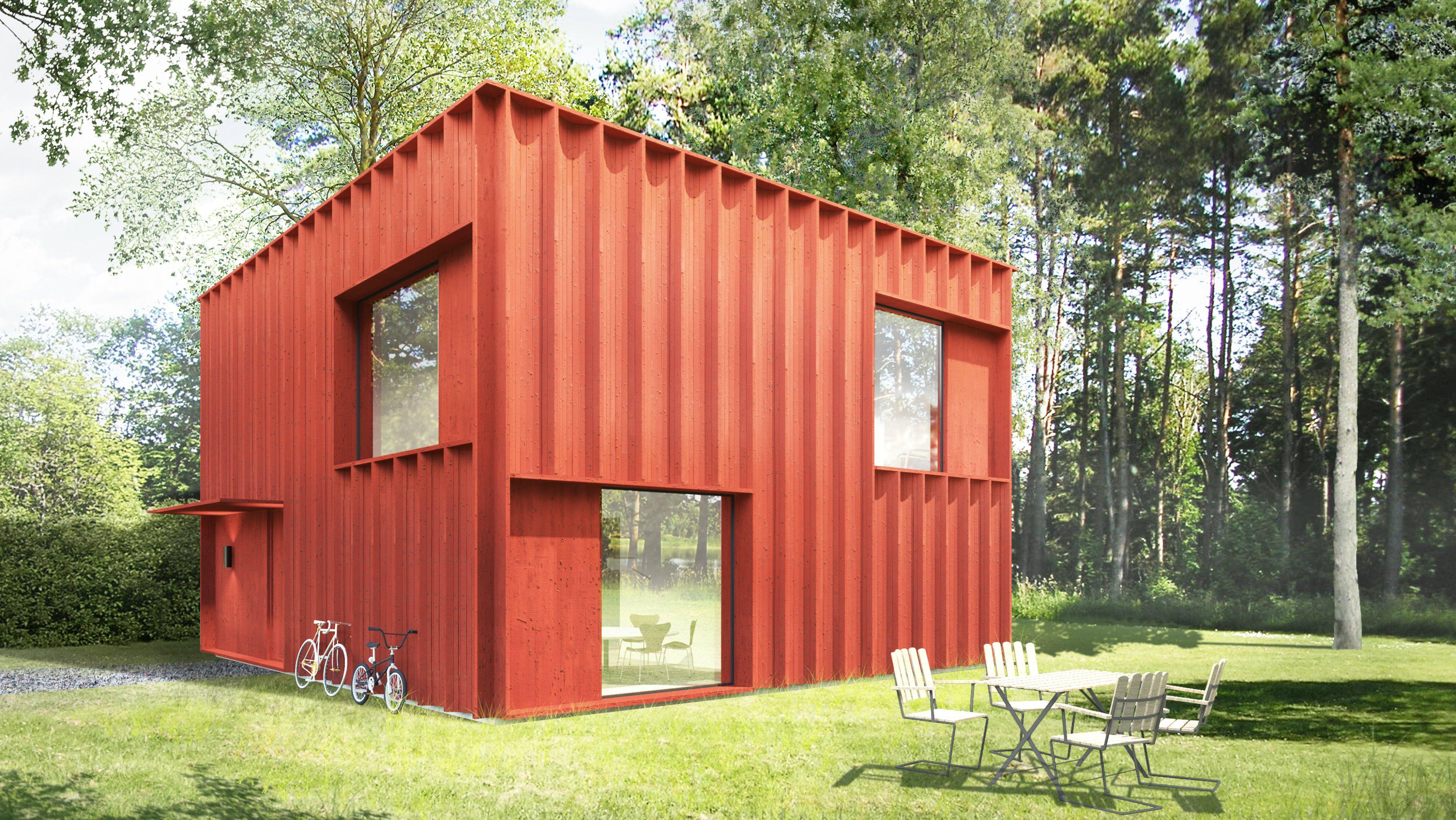 Rootsi punane maja