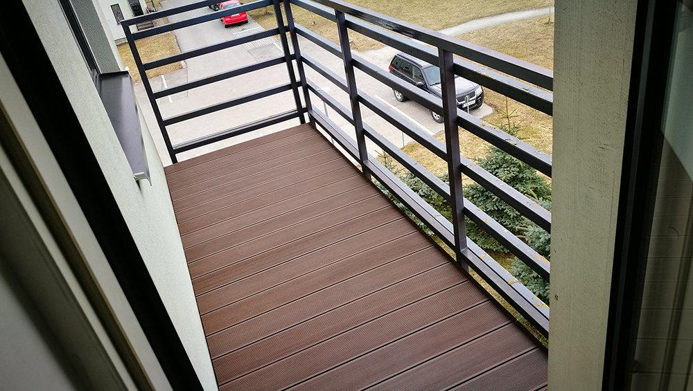 Puitkomposiit terrassilauad