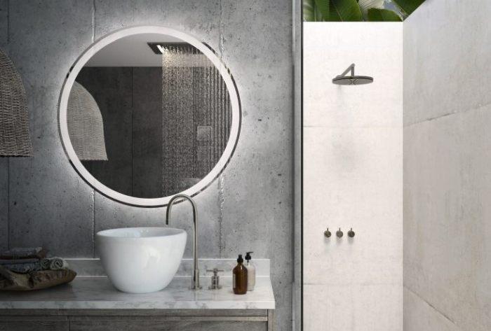 Kui eelistad minimalistlikus stiilis vannituba...