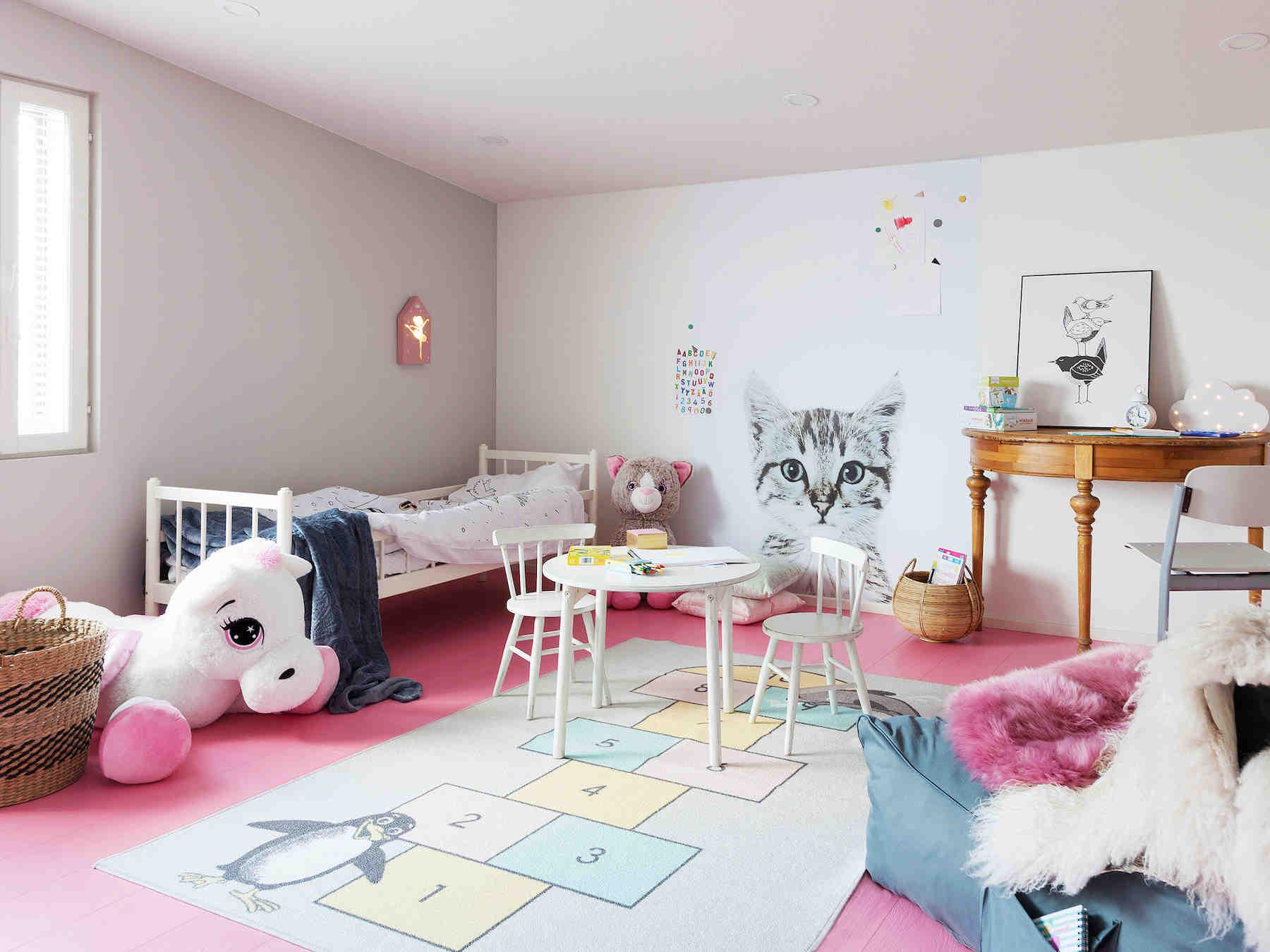 Väikese tüdruku tuba. Foto: elamumess Soomes Poris 2018