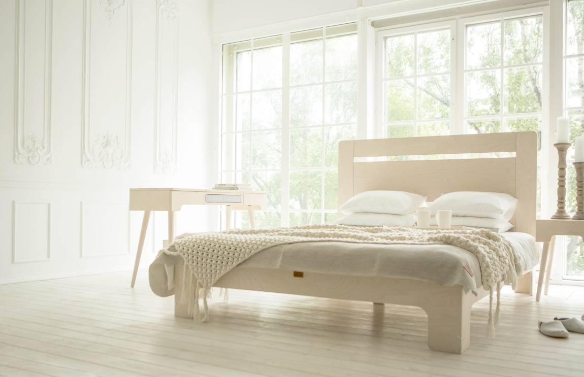 """""""Tuul"""" voodi on inspireeritud Eestimaa looduse värvidest, valgusest ja kargusest."""