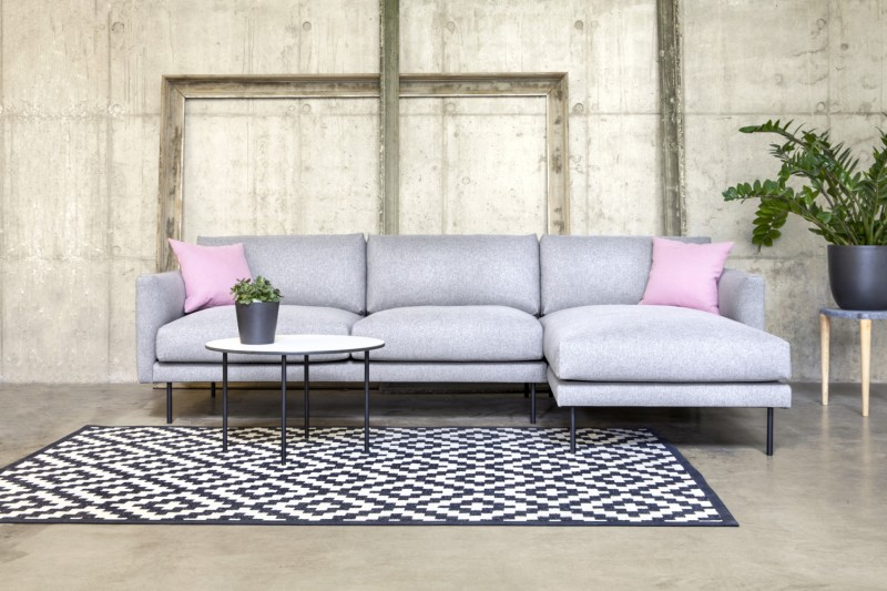 FJORD nurgadiivan, kulmasohva, corner sofa