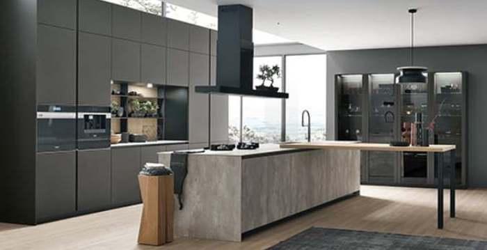 PARADIZO köögimööbli salongis uued moodsad Itaalia köögid