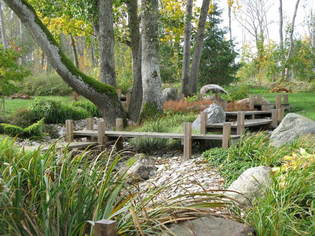 Sobiva taimestiku ja kividest põhjaga saame veesilma kohta eksponeerida ka siis, kui hetkel vett ei ole. Kivisilla OÜ
