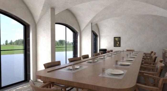 Revonial energiasäästlikud võlvhooned: koobassaun, õllekelder, hoidiste kelder, suveköök...