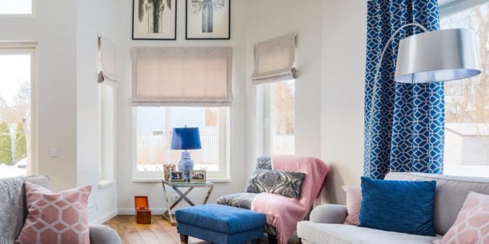 Viimsi eramus särab sinine köök ja rulluvad mustrimängud