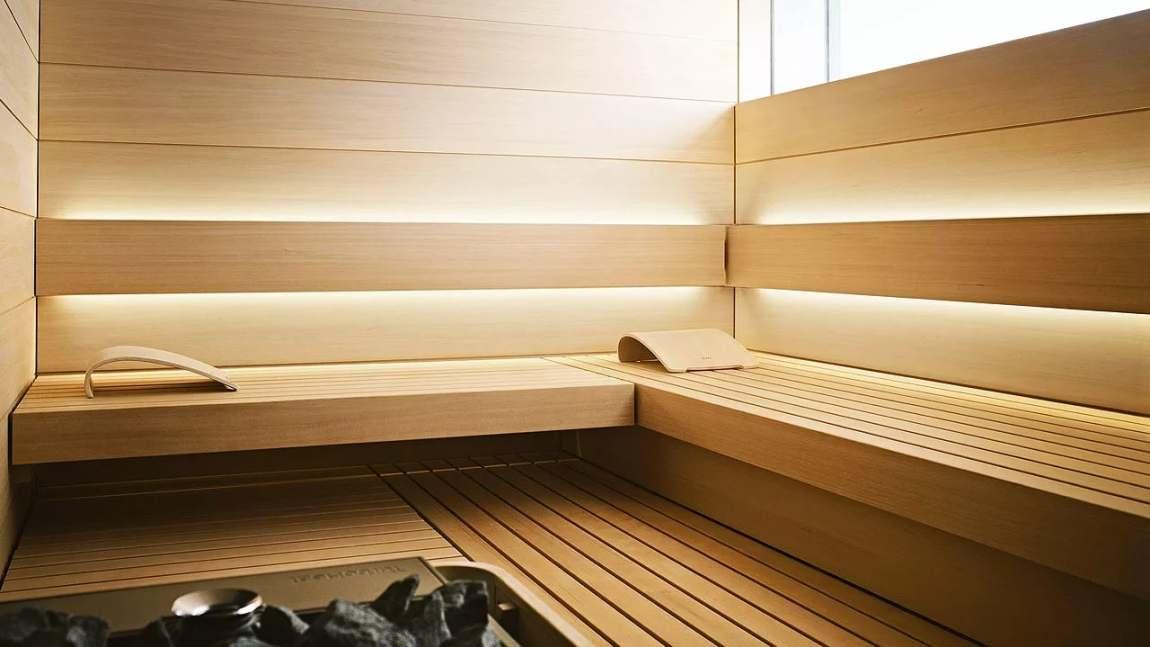 Sauna valgustamine. Foto: Teknos