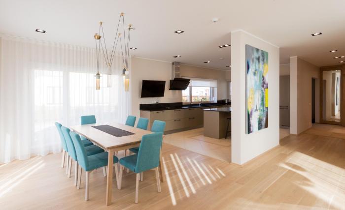 Wax Designi nutikad mööbli täislahendused uues eramus Harku vallas