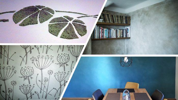 Savikrohv - unikaalne alternatiiv dekoratiivkrohvile ja -värvile