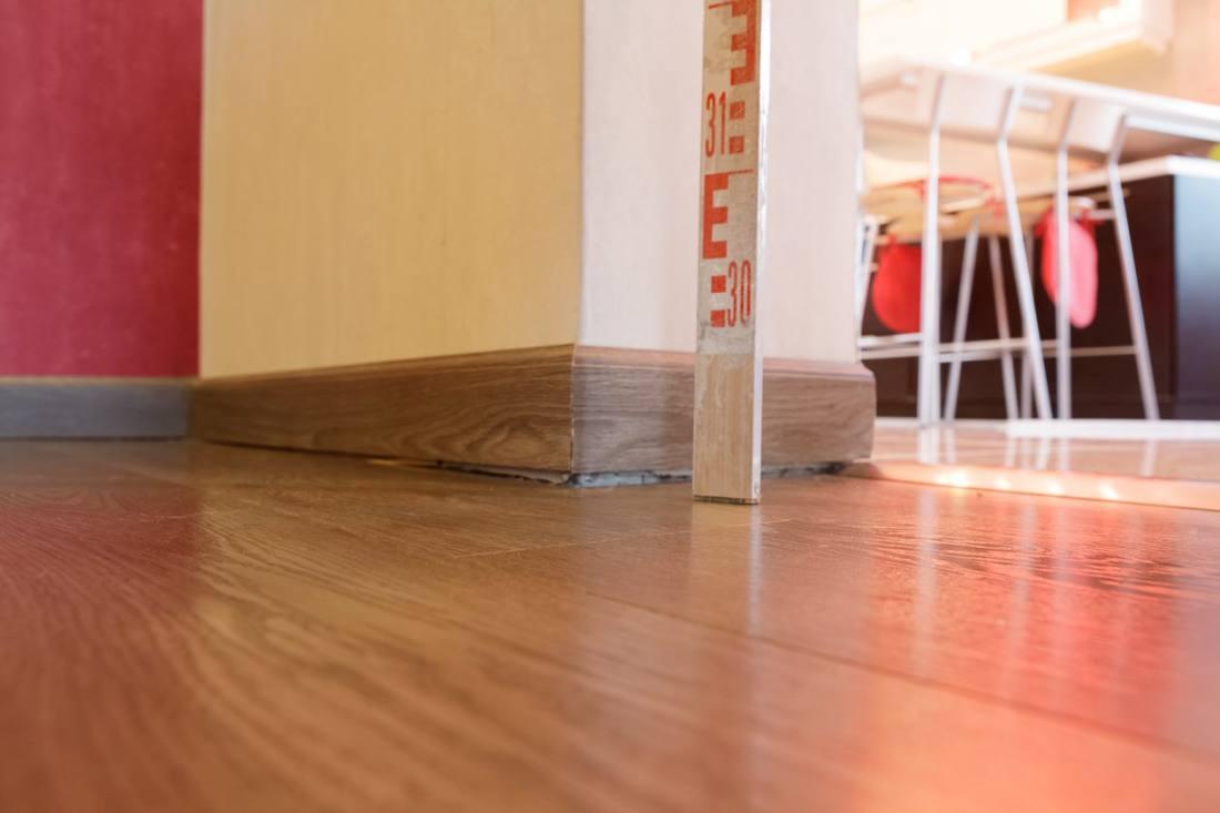 Vajunud põrand