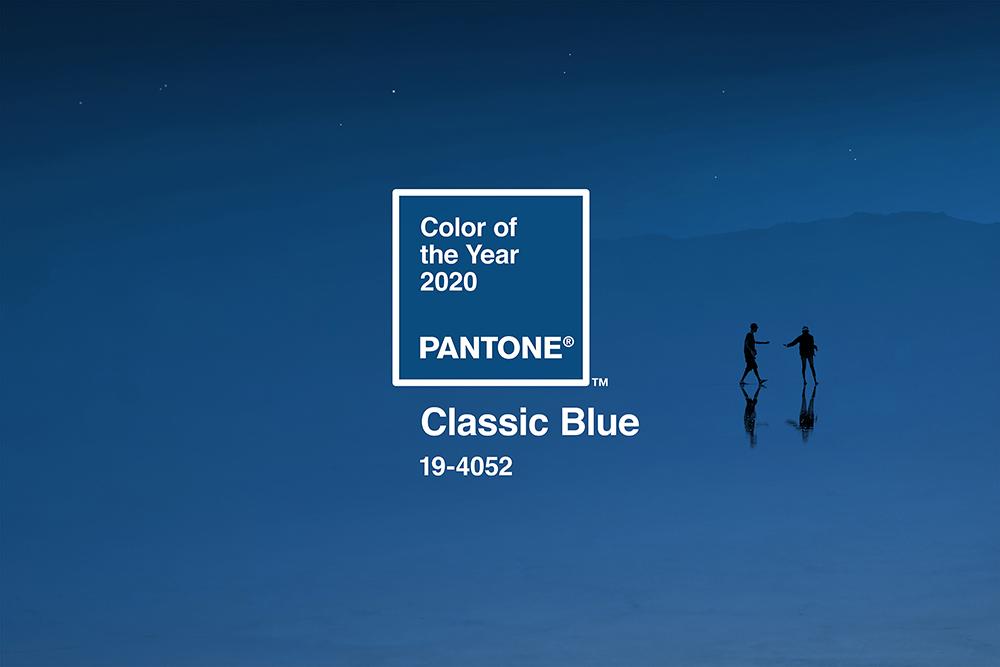 Pantone aastavärv 2020 (klassikaline sinine)