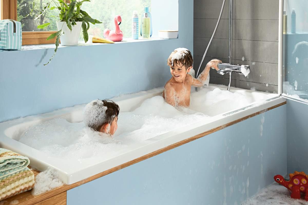 Uue SoftCube disaini ja optimaalsete turvafunktsioonidega uus Croma E tootevalik pakub mõnusat dušielamust ning sobib ideaalselt kogu perele.