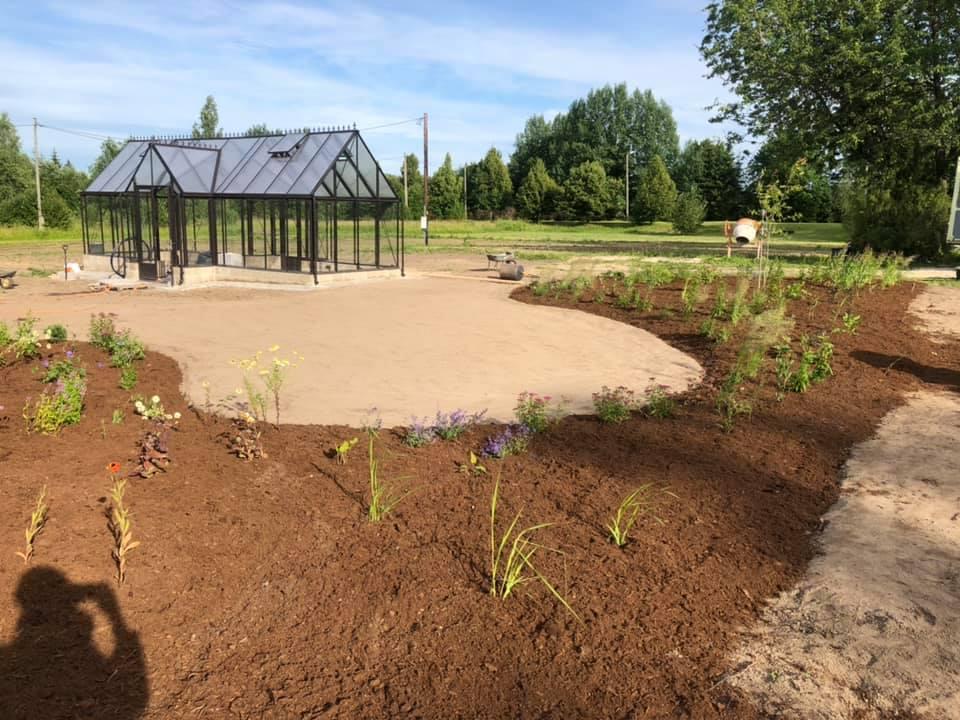 Peenraala ja kasvuhoone planeerimine