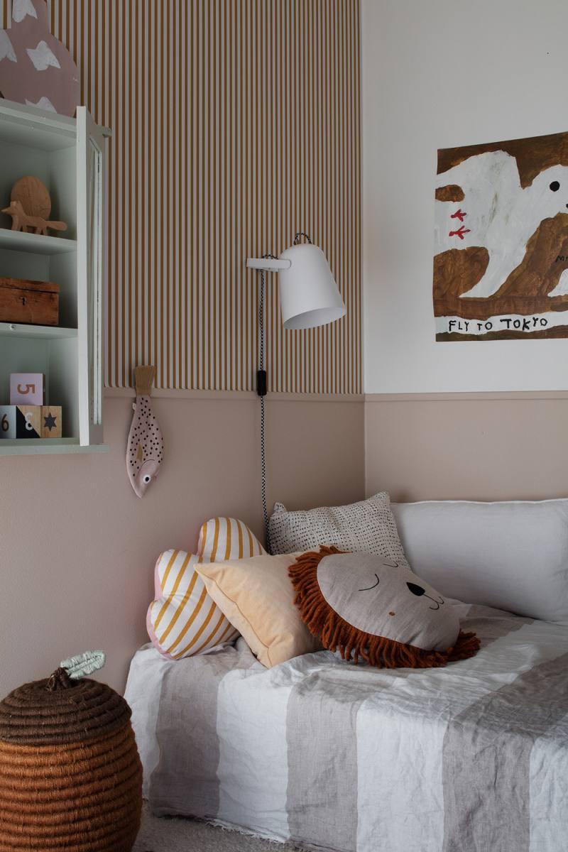 Estelle - Hea idee on seina poolitamine peene liistuga